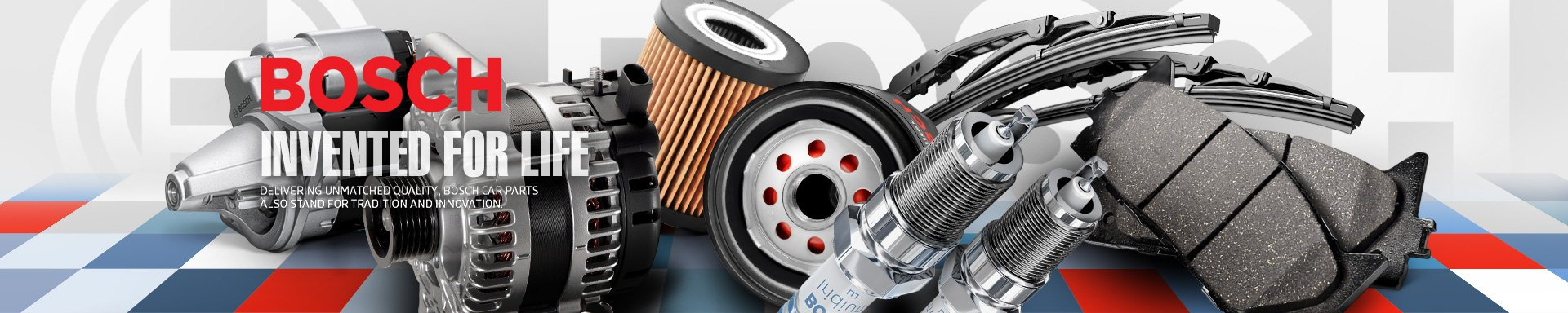 Bosch Automotive Parts Page
